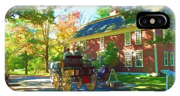 iPhone Case - Longfellows Wayside Inn by Barbara McDevitt