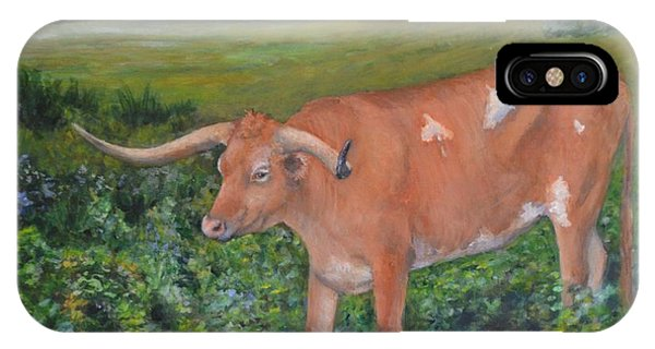 Longhorn Phone Case by Jana Baker