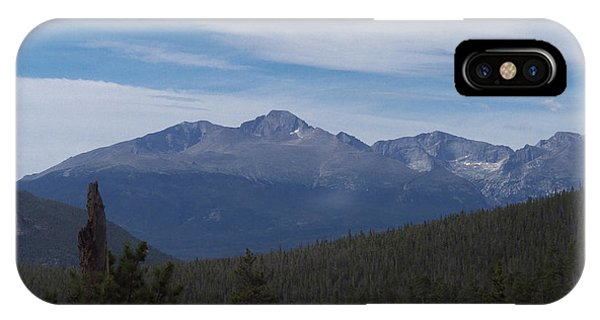 Longs Peak Meeker Peak Massive IPhone Case