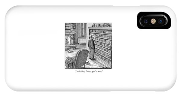 Look Alive, Proust, You're Next IPhone Case