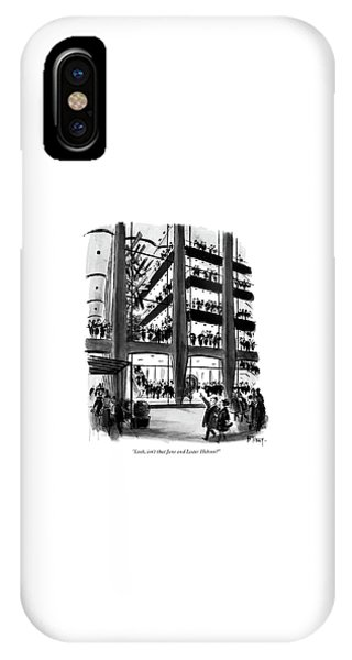 Look, Isn't That Jane And Lester Hobson? IPhone Case