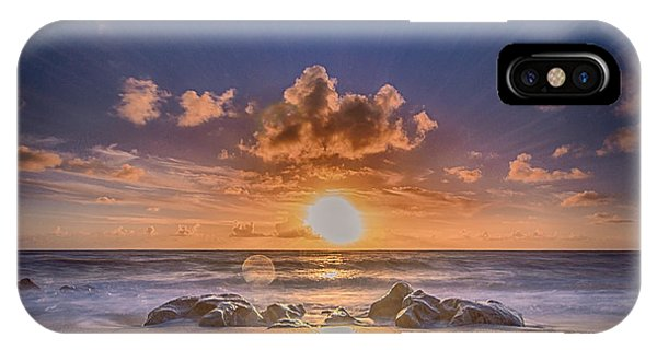 Looking At The Sun IPhone Case