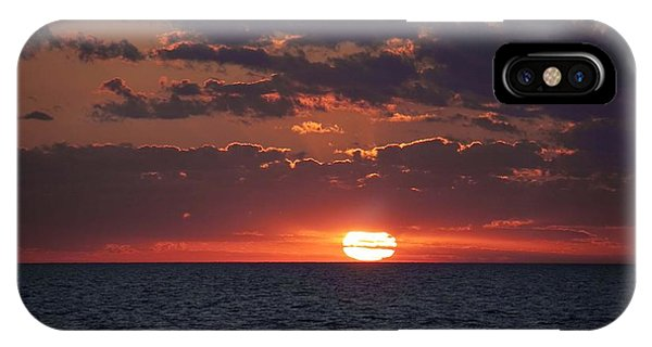 Looking Back In Time IPhone Case