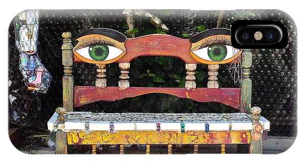 Looking Bench IPhone Case