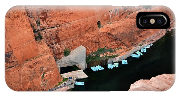 Looking Down At Glen Canyon  IPhone Case