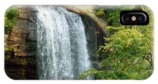 Looking Glass Falls 2 IPhone Case