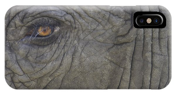 Looking Into The Soul IPhone Case
