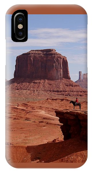 Looking Out At John Ford Point IPhone Case