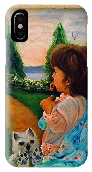 Looking Outward Phone Case by Carol Allen Anfinsen