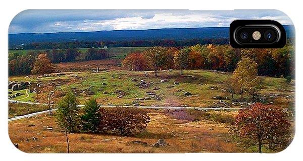 Looking Over The Gettysburg Battlefield IPhone Case