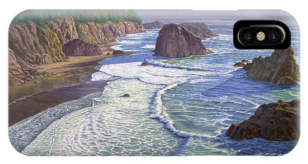 Coast iPhone Case - Looking South- Oregon Coast by Paul Krapf