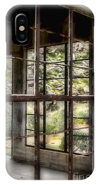 Looking Through The Window By Diana Sainz IPhone Case