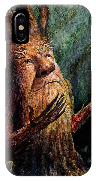 Men iPhone Case - Looking To The Light by Frank Robert Dixon