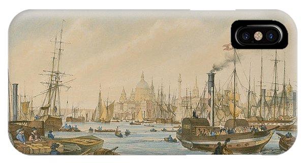 Looking Towards London Bridge IPhone Case