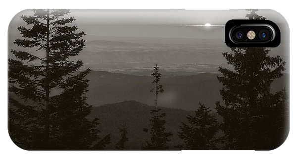 Lookout Butte Sunset IPhone Case