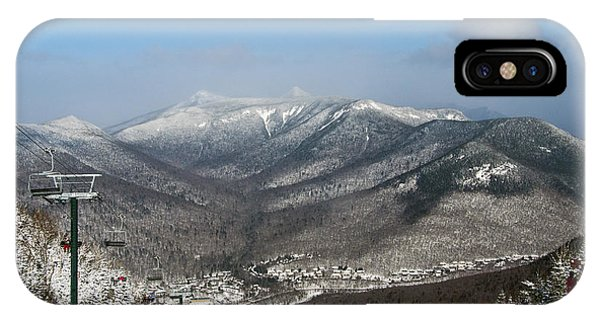 Loon Mountain Ski Resort White Mountains Lincoln Nh IPhone Case