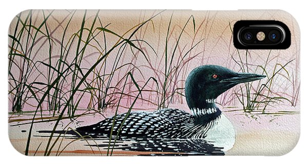 Loon Sunset IPhone Case