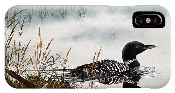 Loons Misty Shore IPhone Case