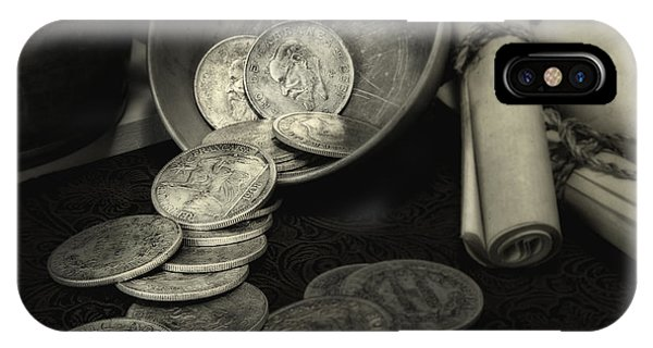 Change iPhone Case - Loose Change Still Life by Tom Mc Nemar