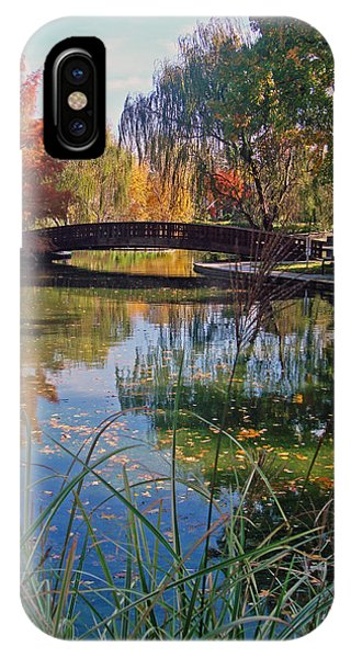 Loose Park In Autumn IPhone Case