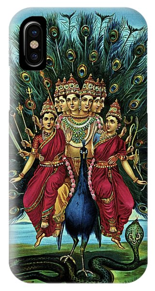 Lord Murugan IPhone Case
