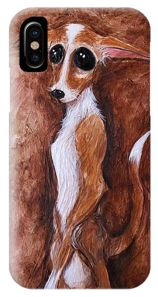 Loretta Chihuahua Big Eyes  IPhone Case