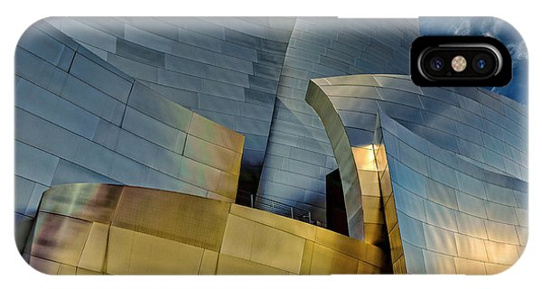 Gehry iPhone Case - Los Angeles, California by Rona Schwarz