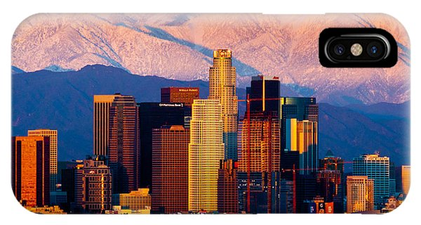 Los Angeles In Winter IPhone Case