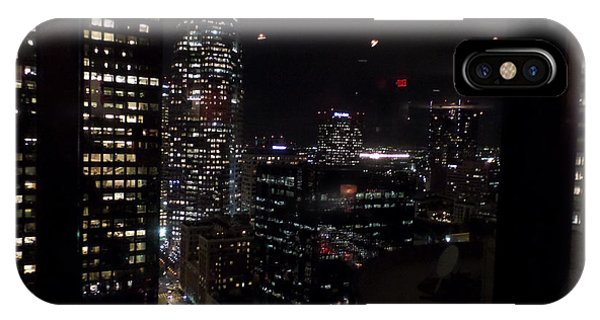 Los Angeles Nightscape IPhone Case