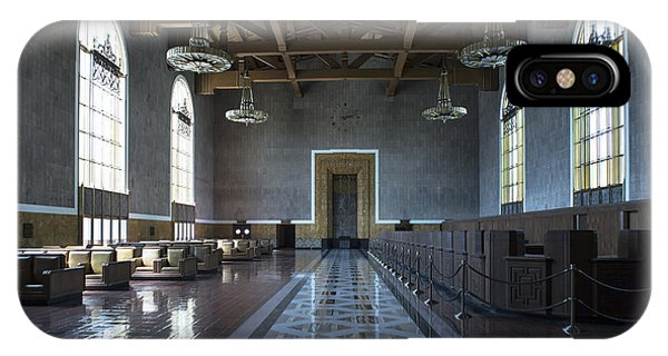 Los Angeles Union Station Original Ticket Lobby IPhone Case