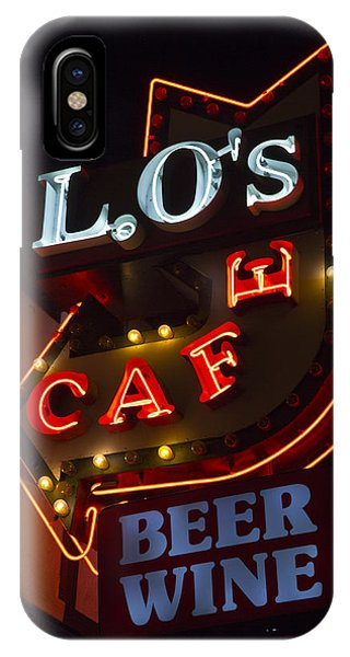 L.o's Cafe IPhone Case