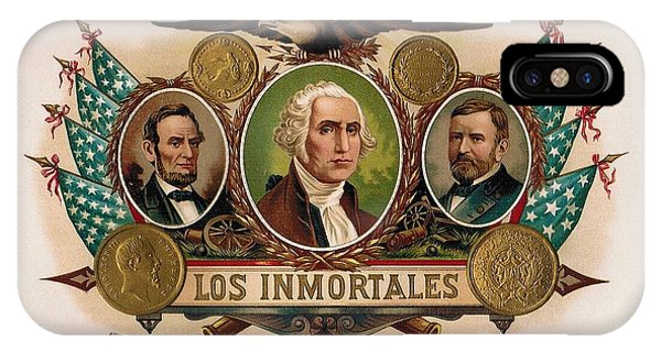 Los Inmortales Cigar Box Label IPhone Case