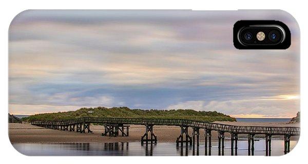Lossiemouth Walk Bridge IPhone Case