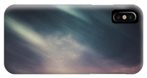 Dark Clouds iPhone Case - Lost by Andrea Fraccaroli