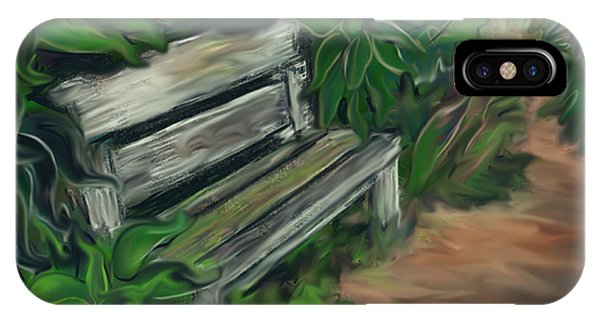 Lost Bench Phone Case by Jean Pacheco Ravinski