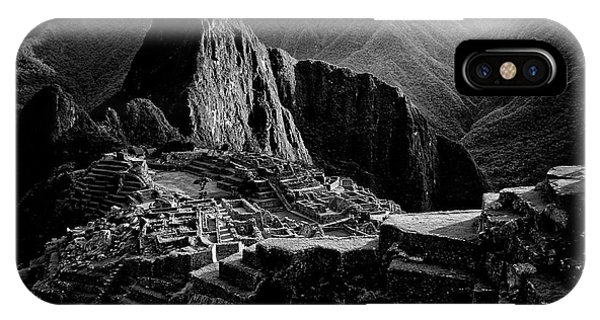 South America iPhone Case - Lost City Of The Incas by Alejandro Fern?ndez Mu?oz