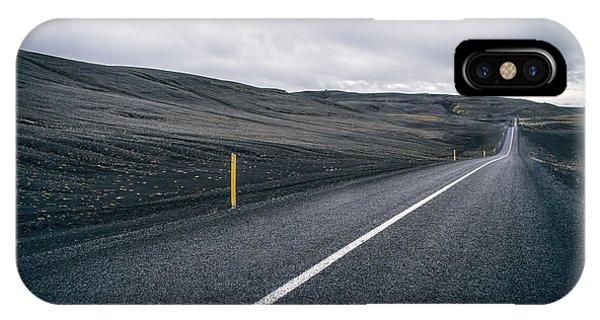 Desolation iPhone Case - Lost Highway by Evelina Kremsdorf