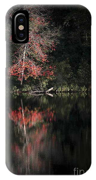 New England Fall Foliage iPhone Case - Lost In The Autumn Of Eternity by Evelina Kremsdorf