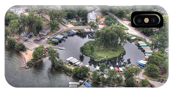 Lazy Lagoon - West Lake Okoboji II IPhone Case