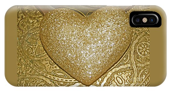 Lost My Golden Heart IPhone Case