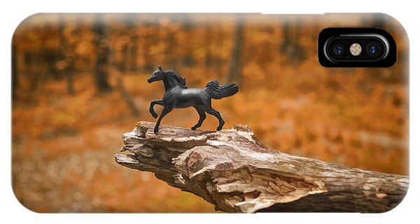 Lost Toy In The Woods IPhone Case