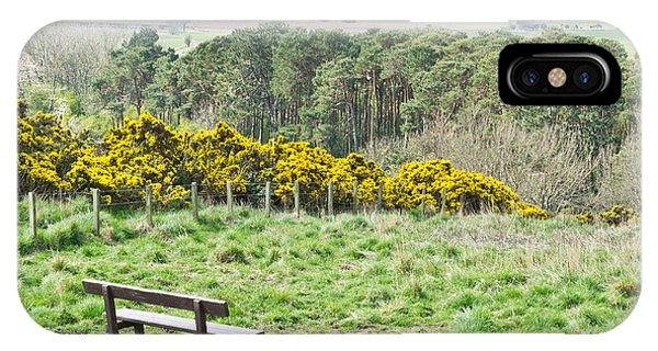 Navigation iPhone Case - Lothian Landscape by Tom Gowanlock