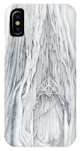 Lothlorien Mallorn Tree IPhone Case