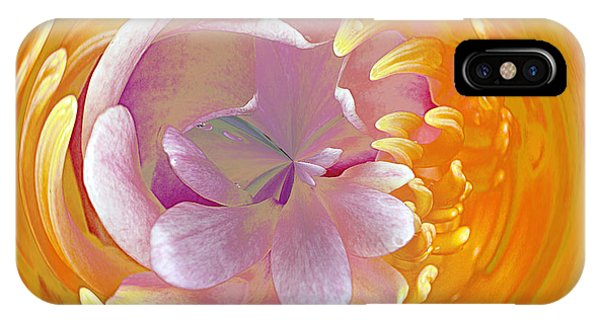 Lotus Go Round IPhone Case