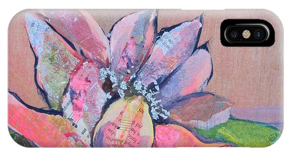 Waterscape iPhone Case - Lotus Iv by Shadia Derbyshire