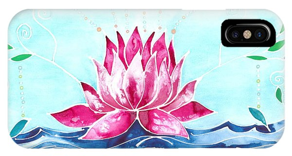 Waterlily iPhone Case - Lotus Lily by Catherine Athena Louise