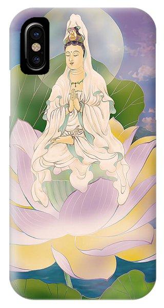 Lotus-sitting Avalokitesvara  IPhone Case