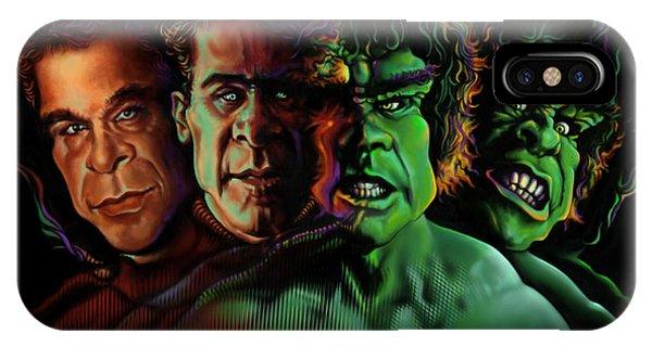Lou Ferrigno Hulk IPhone Case