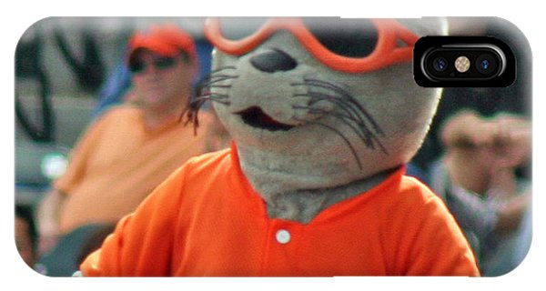 Lou Seal San Francisco Giants Mascot IPhone Case