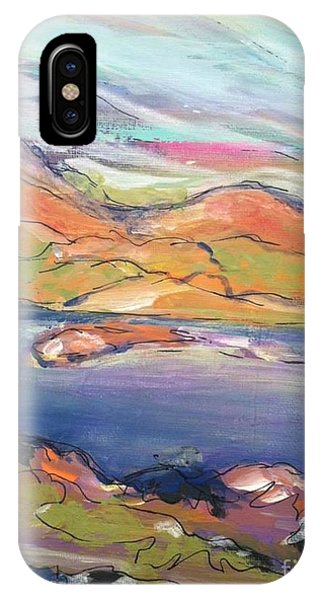 Loughrigg Fell Lake District IPhone Case